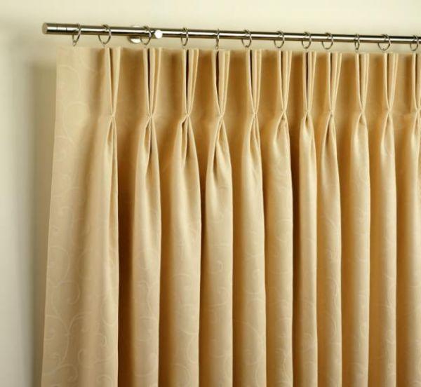 Cortinas em pregas americanas no var o rb cortinas sob medida - Tipos de cintas para cortinas ...
